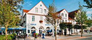 Aussenansicht Neptun Hotel Kuehlungsborn