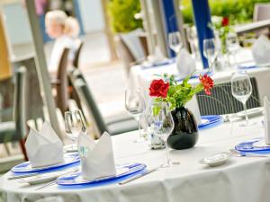Wintergarten in Wilhelms Restaurant im Neptun Hotel Kühlungsborn