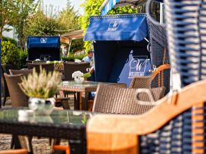 Sommerterrasse im Neptun Hotel Kühlungsborn