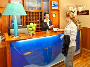 Emfang im Neptun Hotel Kühlungsborn