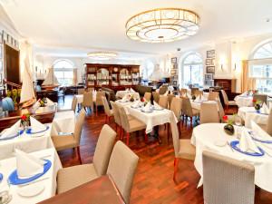 Wilhelms Restaurant mit Wintergarten im Neptun Hotel Kühlungsborn