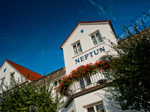 Aussenansicht Neptun Hotel Kühlungsborn